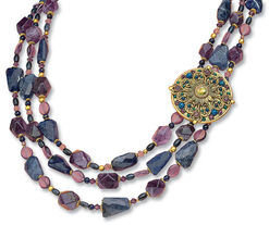 "Collier ""Purple"""