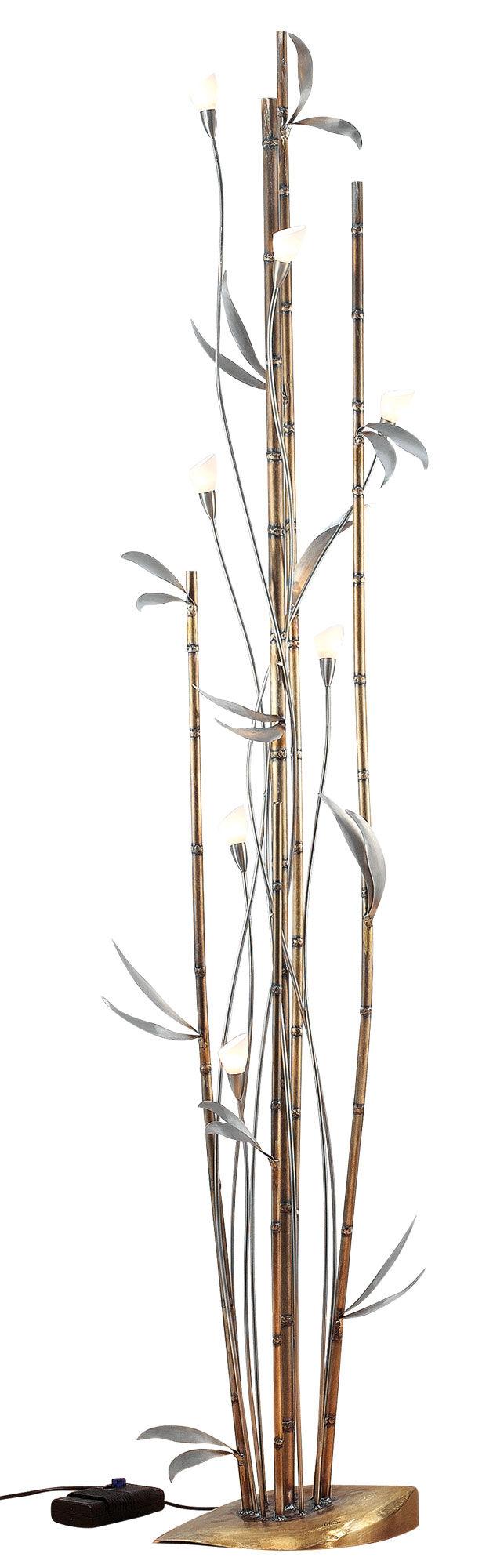 sabine b ttger hopfgartner deckenfluter bamboo dimmbar ars mundi. Black Bedroom Furniture Sets. Home Design Ideas
