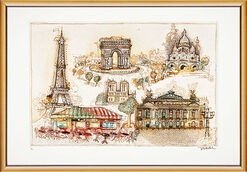 "Bild ""Paris"", gerahmt"