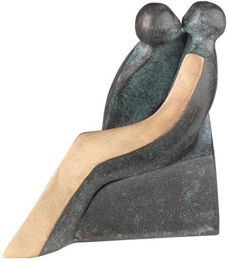 """Luise Kött-Gärtner: Sculpture """"Love"""", bronze"""