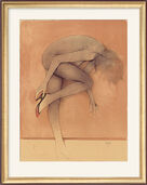 "Bild ""Donna che si veste"" (1986), ungerahmt"