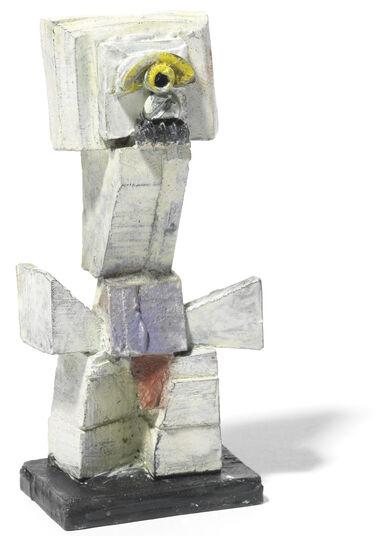 """Menno Fahl: Skulptur """"Sokrates"""", Bronze (2016)"""
