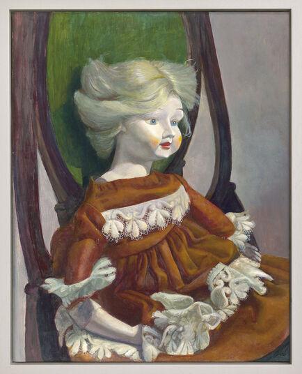 """Gudrun Brüne: Bild """"Französische Puppe"""" (2001) (Unikat)"""