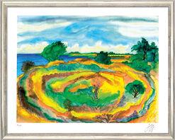 """Bild """"An der Küste"""" (2006), gerahmt"""