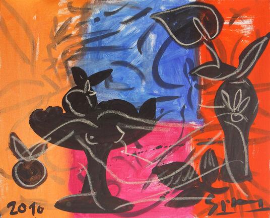 "Stefan Szczesny: Bild ""Stillleben XI"" (2010) (Original / Unikat), ungerahmt"