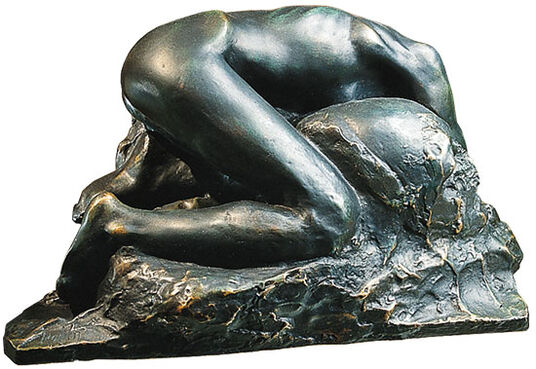 "Auguste Rodin: ""Danaid"", 1889/90, bronze"