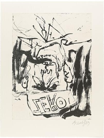 "Georg Baselitz: Bild ""Farewell Bill III"" (2013)"