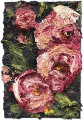 """Bild """"Rosen von Frau Hogevein"""" (2015) (Unikat)"""