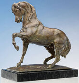 "Sculpture ""Stamped Horse"" (Original size), bronze"
