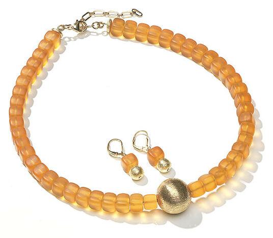 """Petra Waszak: Jewellery Set """"Honey"""""""