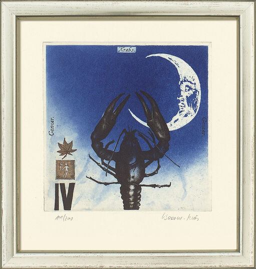 "Bodo W. Klös: Painting ""Cancer"" (22.6.-22.7.)"