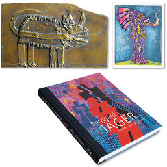 """""""Arbeiten aus 50 Jahren"""" - Vorzugsausgabe mit Buch, Skulptur und Grafik"""