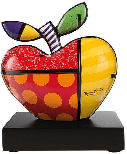 """Romero Britto: Porzellanobjekt """"Big Apple"""" (kleine Version)"""