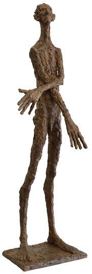 """Roland Zigan: Skulptur """"Irrtum"""" (2007), Bronze"""