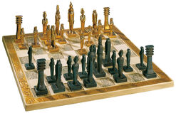 "Egyptian Chess Set: ""The gods´ game"""