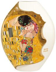 """Porzellanvase """"Der Kuss"""" mit Golddekor (groß, Höhe 31 cm, limitiert)"""