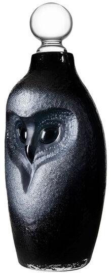 "Mats Jonasson: Glaskaraffe ""Owl - Eule"""