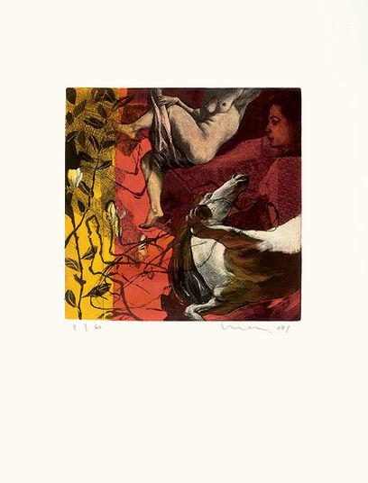 "Kurt Mair: Bild ""Appogio"" (2008), ungerahmt"