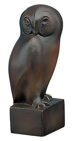 """Francois Pompon: Sculpture """"Large Owl"""" (1927-1930), art casting"""