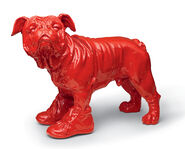 "Sculpture ""Cloned red Bouly"" (2009)"