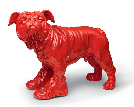 """William Sweetlove: Sculpture """"Cloned red Bouly"""" (2009)"""