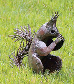 "Garden figure ""Squirrel"", small version"