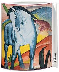 "Porcelain ""Blue Horse"" (1911)"