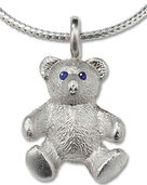 "teddy-necklace ""My Best Friend"", 925 Sterling silver"