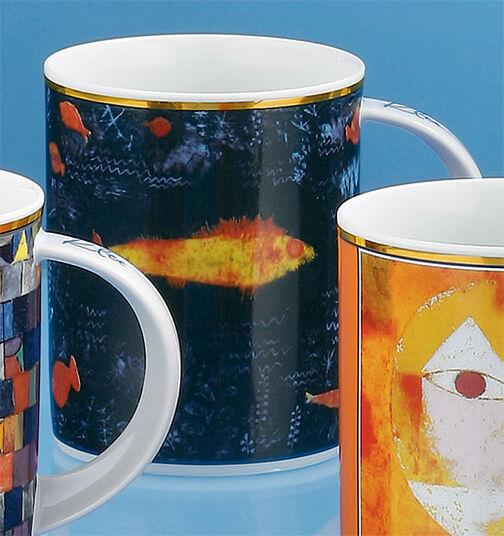 "Paul Klee: Coffee mug ""The Golden Fish "" (1925)"