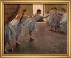 """Bild """"Ballett-Übung"""" (1885/1890), gerahmt"""