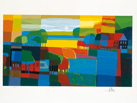 """Ton Schulten: """"Verscholen"""", 2001, ungerahmt"""