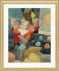 "Painting ""Gladioluses -Still Life"" (1932), Framed"