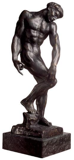 "Auguste Rodin: ""Adam"", 1880, bronze"