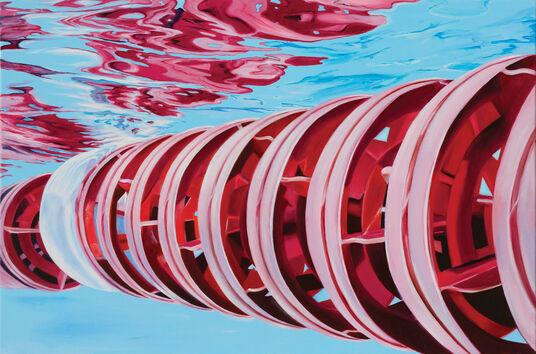 """Alex Heil: Bild """"Unter Wasser"""""""