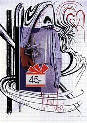 "Bild ""Lila Geschenke"" (2002)"