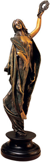 Thomas Schöne: Sculpture 'Siege Goddess Victoria', version in cold cast bronze