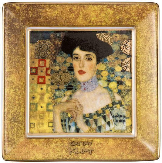 """Gustav Klimt: Porzellanschale """"Adele Bloch Bauer"""" mit Golddekor"""