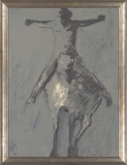 """Marino Marini: Bild """"Ascensione"""", gerahmt"""