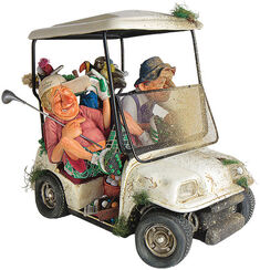 "Caricature ""Buggy Buddies"" art castings handpainted."