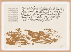 """Bild """"Huldigung an Hafez – Motiv 24"""" Einzelblatt aus dem Werkzyklus (2015/16)"""
