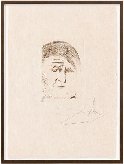 """Salvador Dalí: Bild """"Picasso"""" (1968)"""