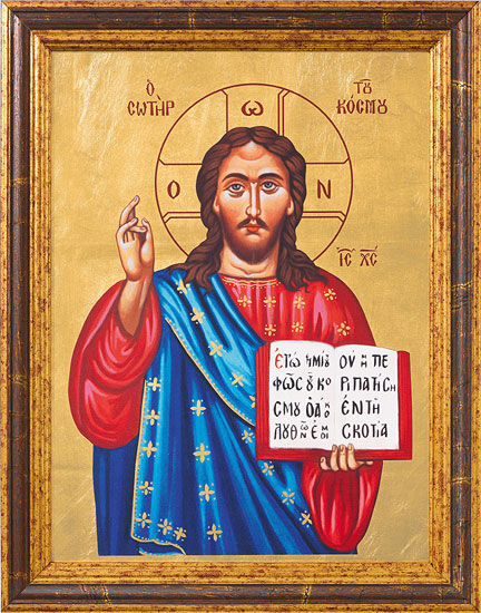 "con Picture ""Christ Pantocrator - Saviour of the World"""