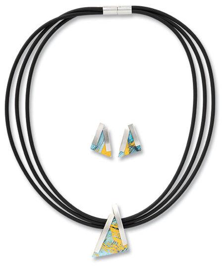 Kreuchauff-Design: Jewelry set 'Triangle'