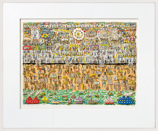 "James Rizzi: 3D-Bild ""Coney Island"" (1983)"