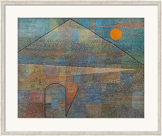 "Paul Klee: Bild ""Ad Parnassum"" (1932), gerahmt"