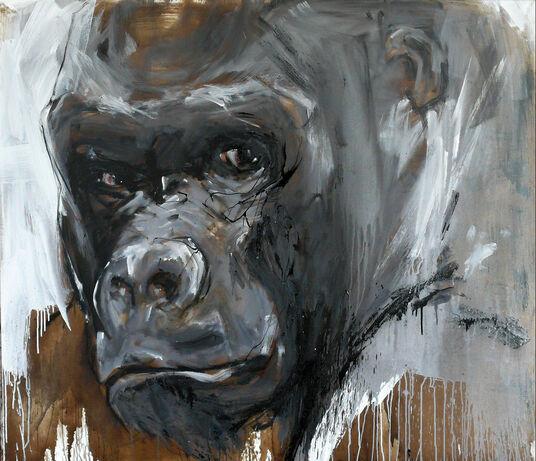 "Ralf Koenemann: Bild ""Gorilla 49"" (2015) (Unikat)"