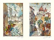"""2 Bilder """"Venedig I + II"""" im Set"""