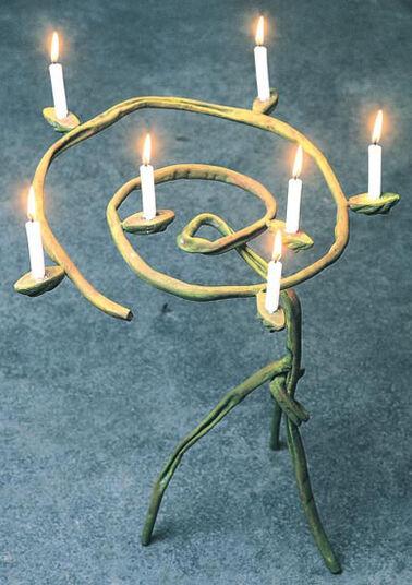 "Bohuslav Horák: Candlesticks ""Lilia"""