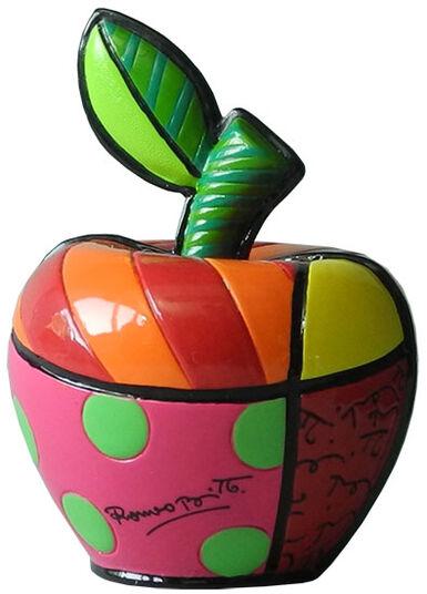 """Romero Britto: Skulptur """"Mini Apple"""", Kunstguss"""