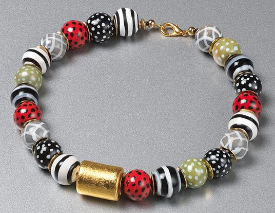 "Anna Mütz: Pearl necklace ""Turkana"""